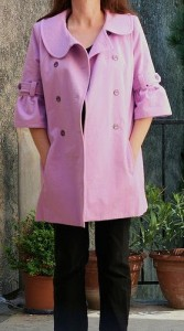 Trench coat M5525 ouvert