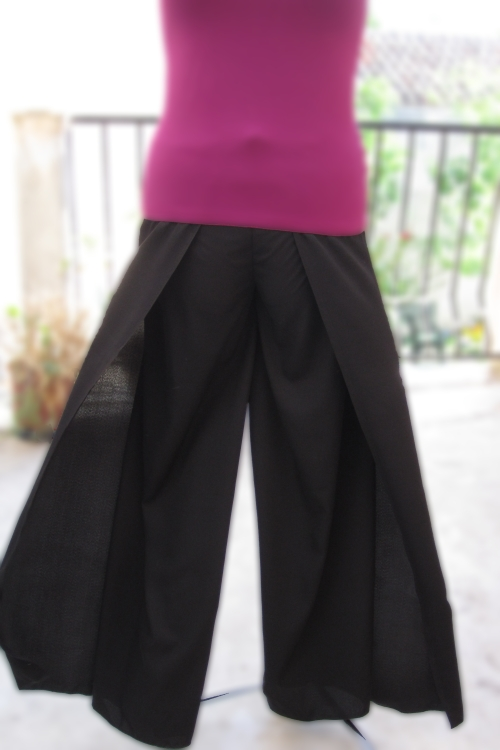 patron couture pantalon facile