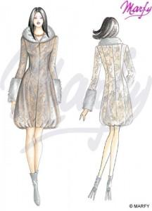 manteau Marfy automne-hiver 2011 réf 2569
