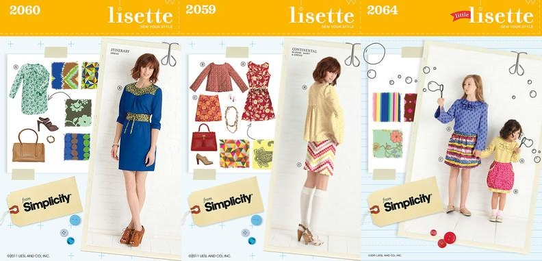 Collection Lisette simplicity automne 2011