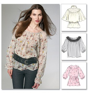 Blouses Laura Ashley McCalls hivers2011