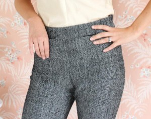 Colette Patterns - pantalon Clover poches