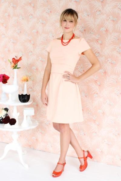 Patron colette - robe Peony version manches courtes sans poches