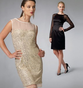 McCall's robe facile déclinée par tailles de bonnet - Réf. M6460