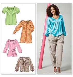McCall's tuniques et robe dessin - Réf. M6481