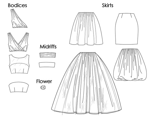 Mccall 39 s hiver f tes 2011 couture stuff for Comment faire la robe de mariage cupcake
