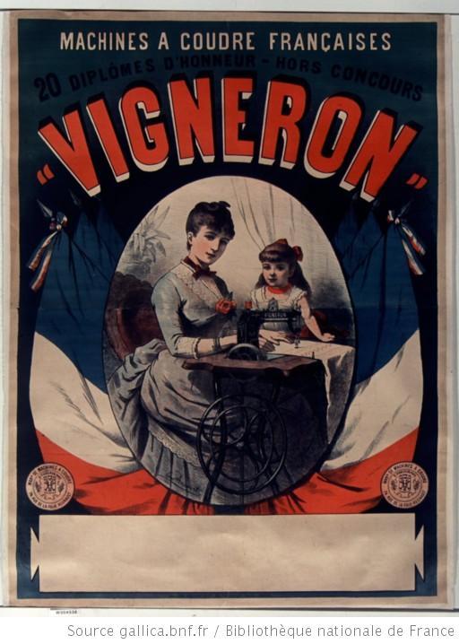 machine à coudre H Vigneron 1890