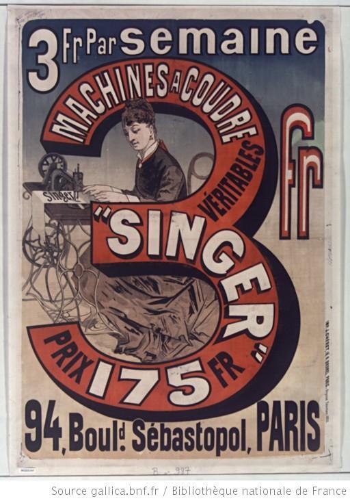 machine à coudre singer 1876