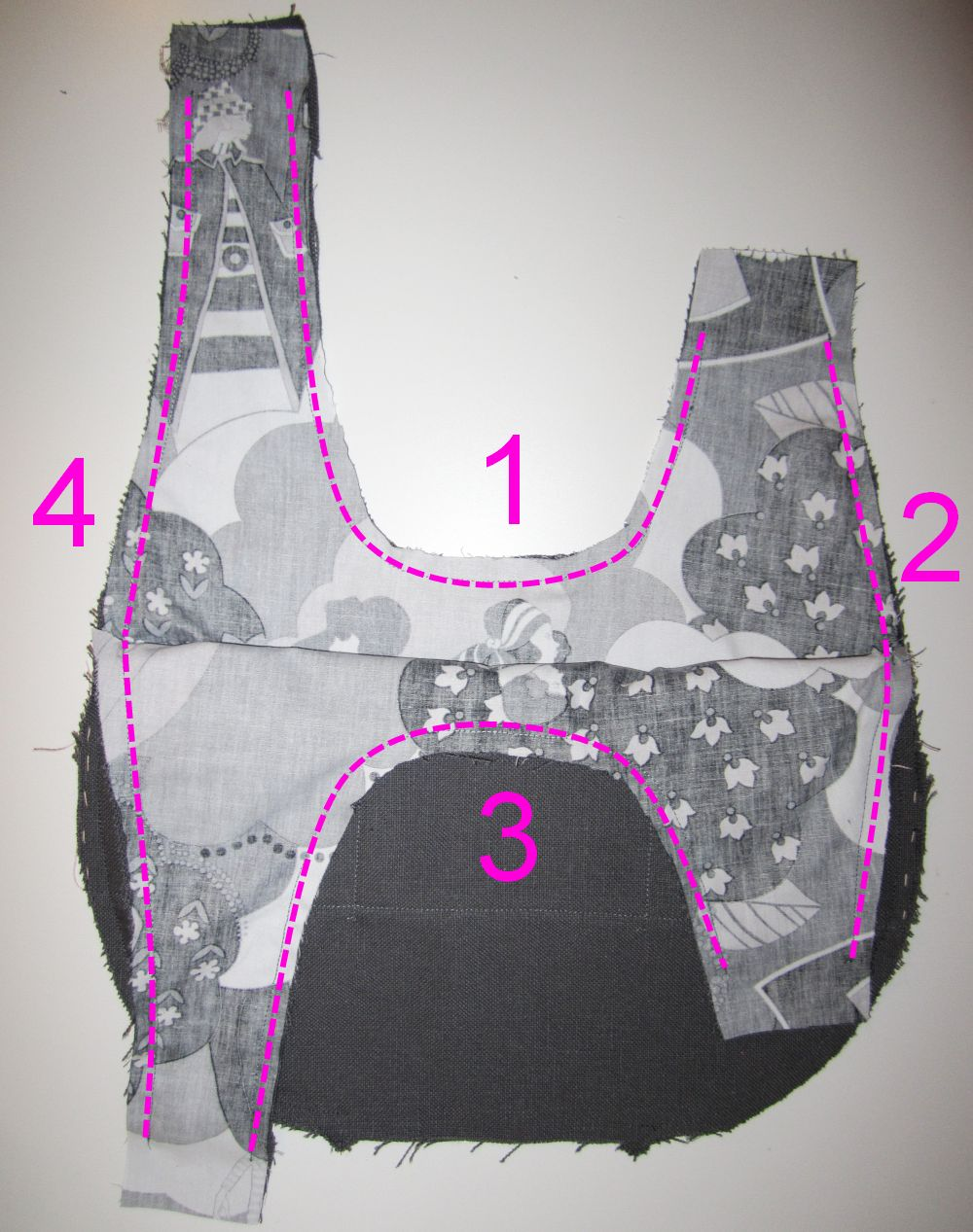 Tuto sac japonisant couture stuff for A coudre en anglais