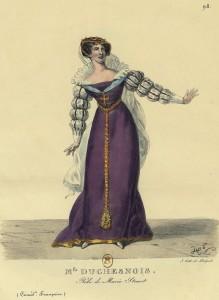 Costume Théâtre Marie Stuart