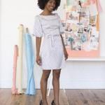 Robe Licorice colette patterns