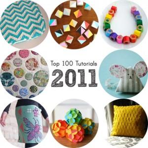 Les 100 meilleurs tutos 2011