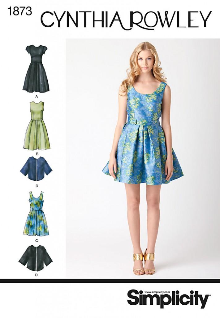Patron robe et veste printemps 2012 simplicity