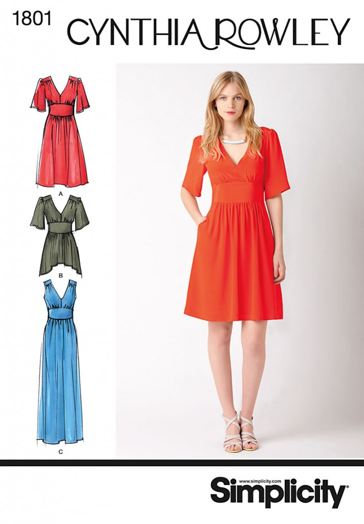 patron couture robe été 2012