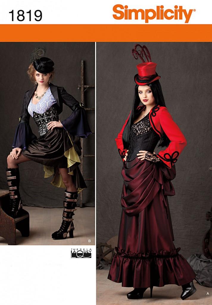 Patron couture déguisement steampunk