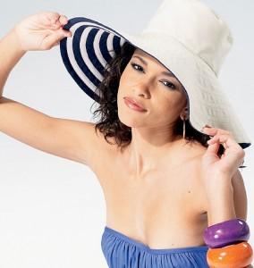 patron couture chapeau été