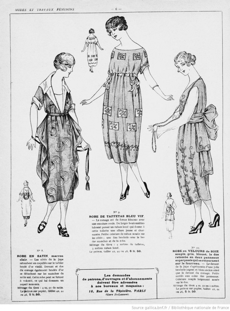 Robes femme années 20