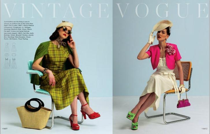 V8811 V8812 - Vogue vintage