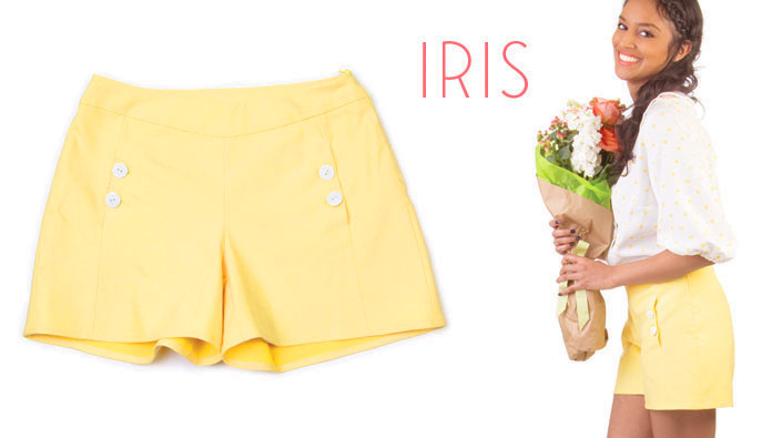 Patron Short Colette patterns Iris