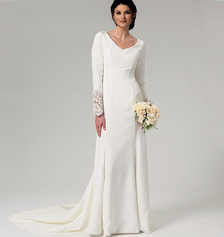 Patron couture robe de mariée