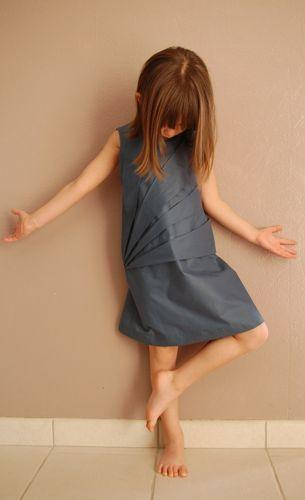 Robe origami enfant - Lalimaya