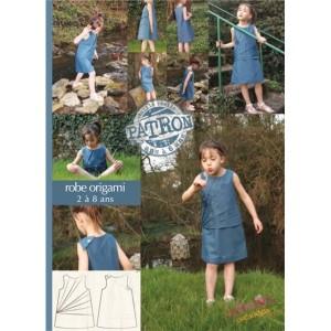 Pochette robe origami enfant - Lalimaya