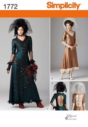 patron couture costume steampunk