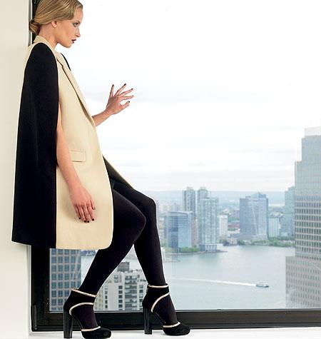 Patron cape DKNY automne 2012