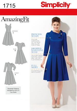 Simplicity Réf.1715 - Robe amazing fit