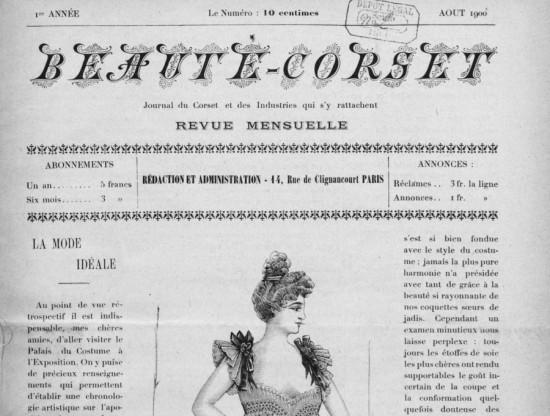 Beauté Corsets 1900-1902