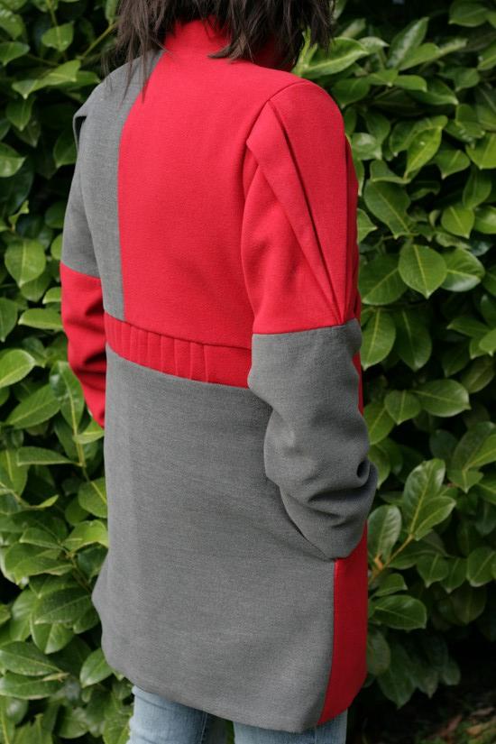 manteau origami dos lalimaya