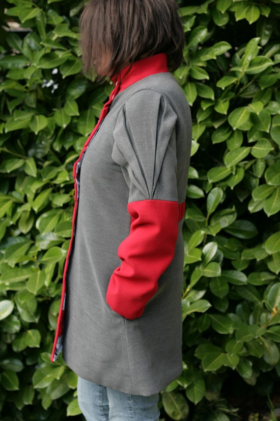 Manteau origami lalimaya profil