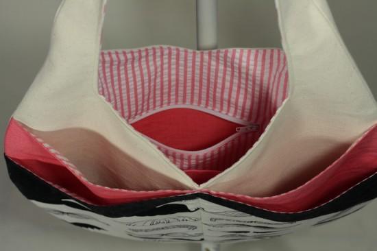 Poche intérieure zippée